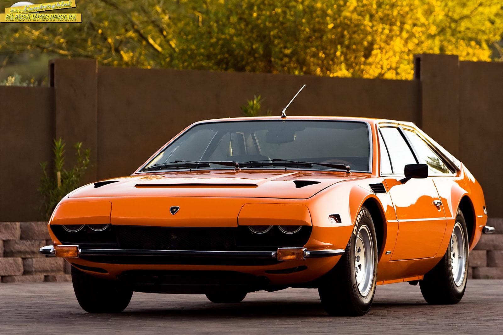 Всё о Lamborghini Фотогаллерея Lamborghini Jarama