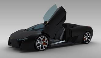 Lamborghini Murcielago Restyling Concept' 2010